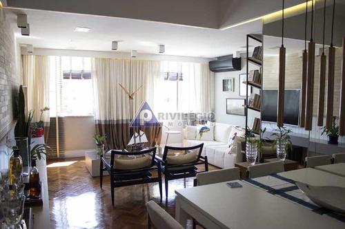 Apartamento À Venda, 2 Quartos, 1 Suíte, Copacabana - Rio De Janeiro/rj - 17190
