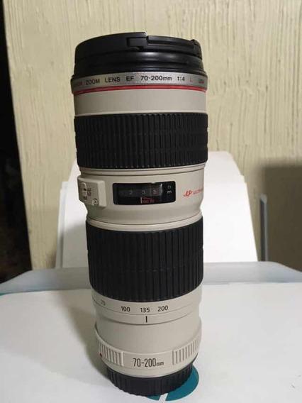 Lente Canon Ef 70-200 F/4l Usm