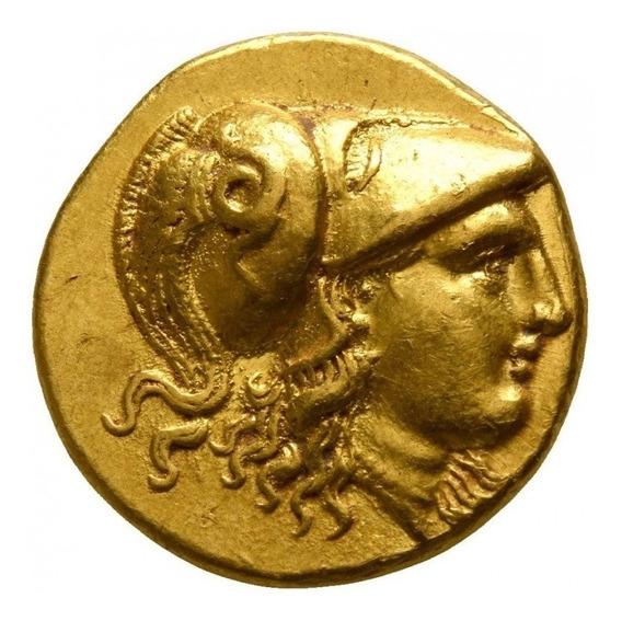 Moeda Grega Stater De Ouro De Alexandre O Grande 336-323ac