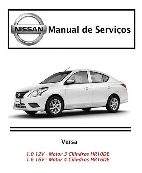 Manual De Serviços - Nissan Versa 1.0 12v E 1.6 16v - Pdf