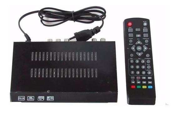 Tv Conversor Digital Para Tv Tubo Gravaçao Programada