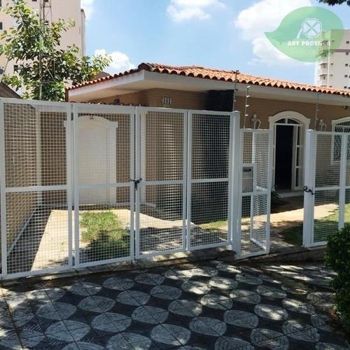 Imagem 1 de 16 de Casa Para Alugar, 313 M² Por R$ 5.500,00/mês - Jardim Paulistano - Sorocaba/sp - Ca7616