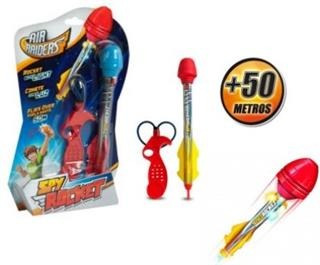 Cohete Con Luz Spy Rocket- Lanzalo A Mas De 50 Mts!