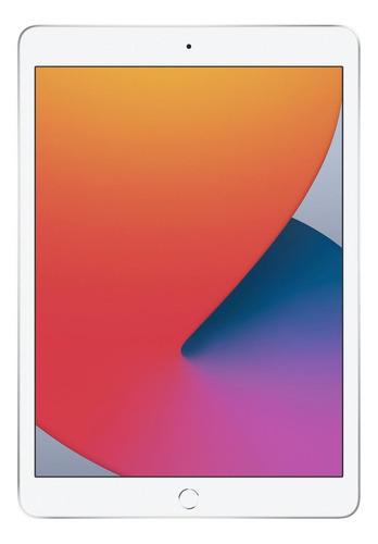 """Apple iPad de 10.2"""" WI-FI  128GB Prateado (8ª geração)"""