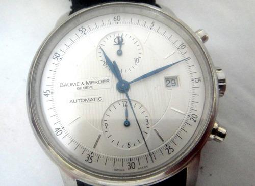 Relógio Cronograph  Relógio Baume&mercier Classima