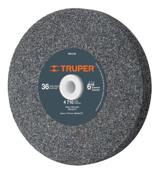 Piedra Para Esmeril 6 X 1 Oxido De Aluminio Grano 36 16381
