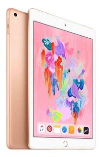 New iPad 6 Gen Wifi 32gb Gold Sellado Fact A B