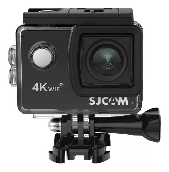 Câmera De Ação Sjcam Sj4000 Air 4k Wifi - Original + Sd 64gb