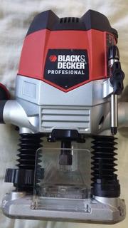 Fresadora Black & Decker + 10 Fresas