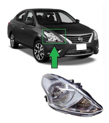 Optico Derecho Nissan Versa 2015 Al 2019 - Taiwanes