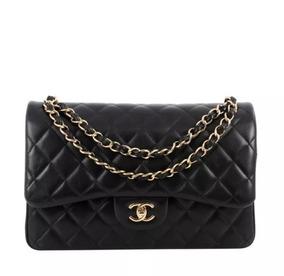 Bolsa Chanel Classic Flap E Jumbo Lambskin Original Na Caixa