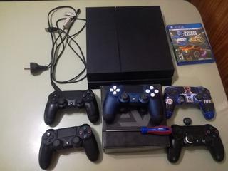 Ps4 500gb + 5 Joysticks + 7 Juegos