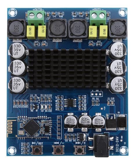 Digital Bluetooth Power Amplifier Board, Dual Channel 120w+1
