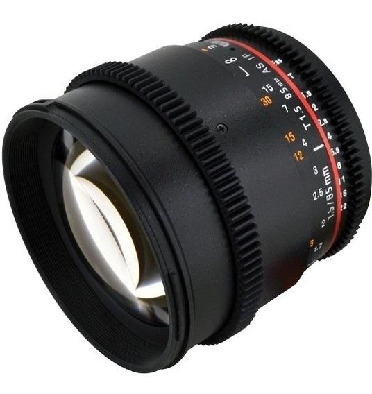Lente Rokinon 50mm T1.5 As Umc Cine Ds - Micro Four Thirds