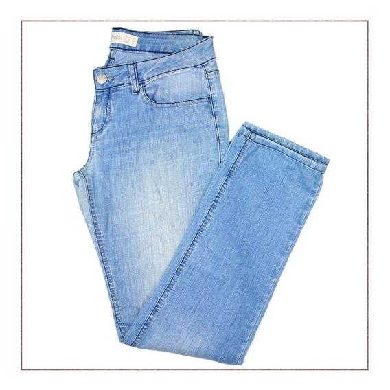 Calça Jeans Zara Clara Trf Denin