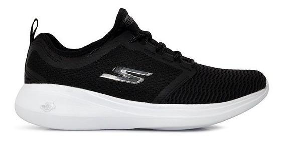 Tênis Skechers Go Run Fast 55100 Preto/branco
