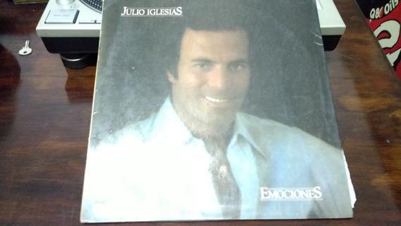 Disco De Vinilo - Julio Iglesias - Emociones