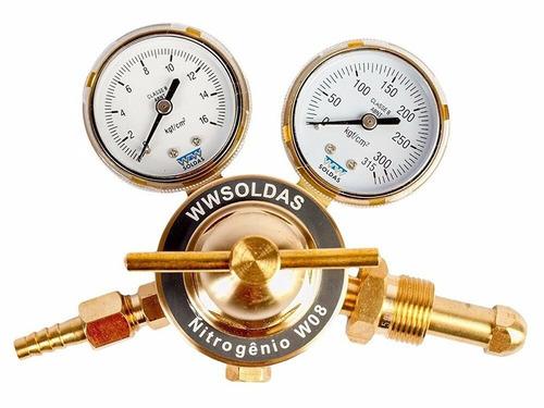 Regulador Para Cilindro De Nitrogênio W8 - Wwsoldas