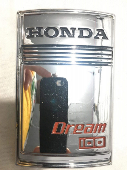 Emblema Frontal Dream C100 - Original Honda