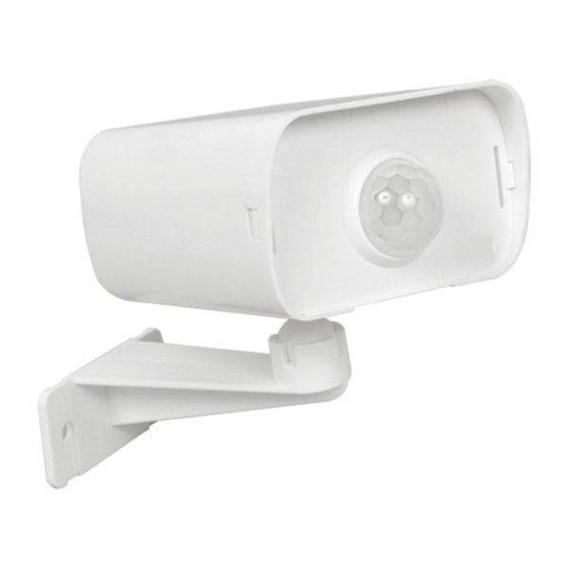 Sensor Iluminação Uso Externo Tipo Câmera Margirius Branco