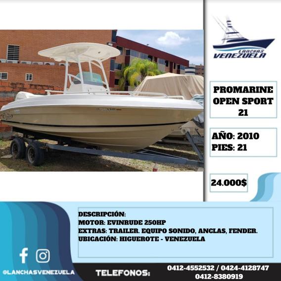 Lancha Promarine Open Sport 21 Lv532