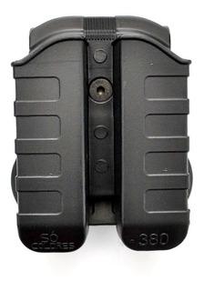 Porta Carregador Duplo 380 Ou 9mm Taurus Universal