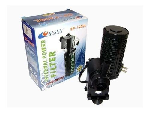 Filtro Para Acuario Resun Sp-1200l Capacidad 700l/h