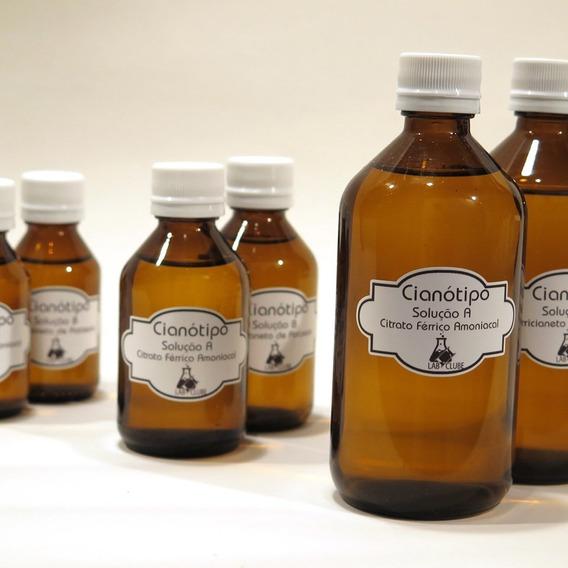 Kit Químicos Para Cianotipia / Cianótipo Citrato Verde 100ml
