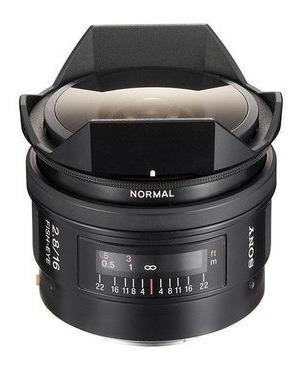 Lente Sony 16mm F/2.8 Fisheye A-mount (sal16f28)
