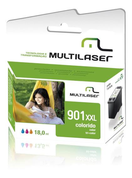 Cartucho Cc656al Nº901 Colorido Multilaser - Co181
