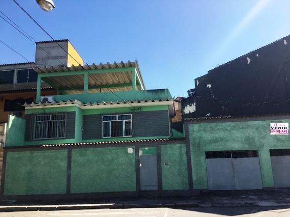 Centro/nova Iguaçu, Casa 3 Quartos Sendo 1 Suíte, Terraço E 2 Vagas De Garagem. - Ca00611 - 34077198