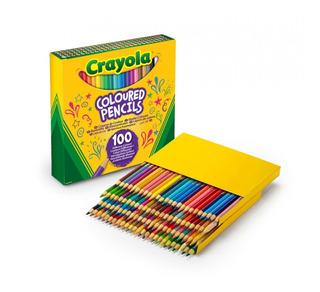 Crayola 100 Lapices De Color Colored Pencils