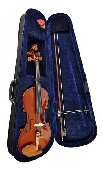 Violino Hofma By Eagle Hve241 4/4 Breu Estojo Extra Luxo