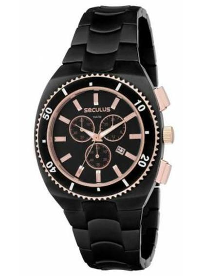 Relógio Unissex Seculus 20003gpsg Cronógrafo