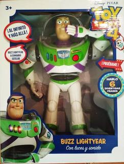 Buzz Lightyear Toy Story 4 - 6 Frases Español Envío Gratis