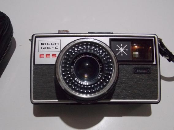 Câmera Fotográfica Analógica Ricoh 126-c Ees