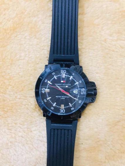 Relógio Tommy Hilfiger Original Pulseira Borracha