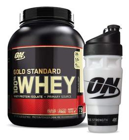 Ns Whey Gold Stand On 5lb Vanilla + Shaker Gratis