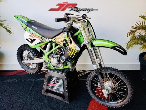 Kawasaki Kx 100 1996 Verde