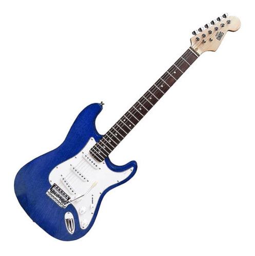 Guitarra Electrica Onas Stratocaster Palanca St Red Wood