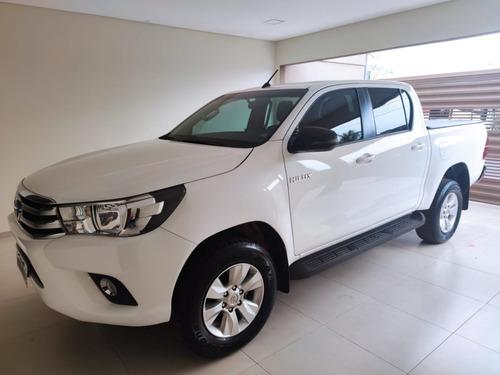 Toyota Hilux 2018 2.7 Sr Cab. Dupla 4x2 Flex Aut. 4p