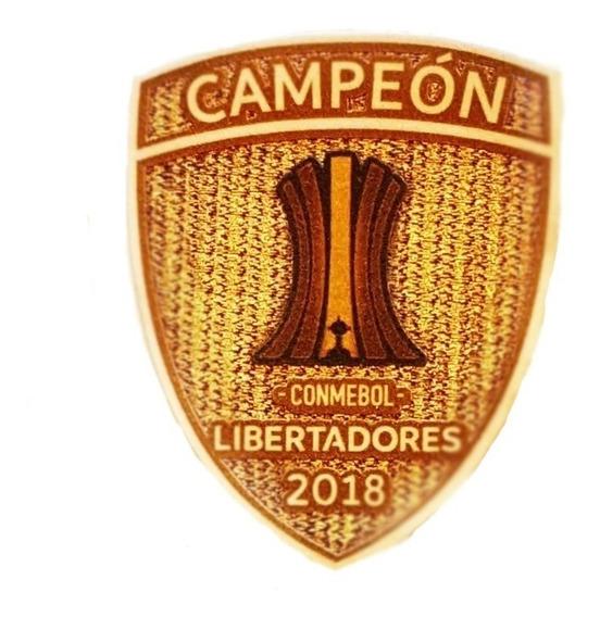 Parche Campeón Copa Libertadores 2018 Únicos!!!