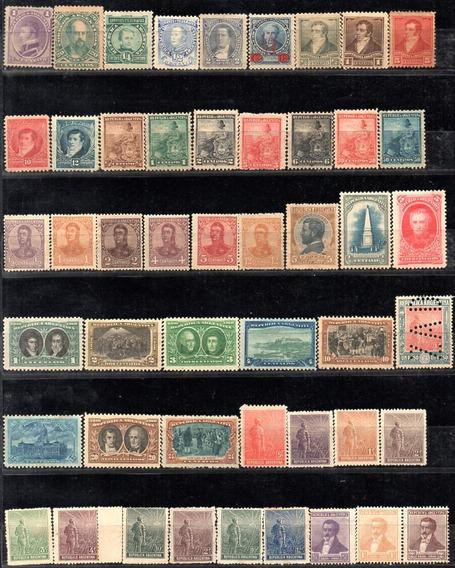 Argentina 1867/1959. Pequeña Colección C/393 Sellos 1 Bloque