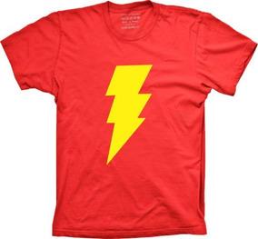 Camiseta Plus Size Super Herói - Shazam