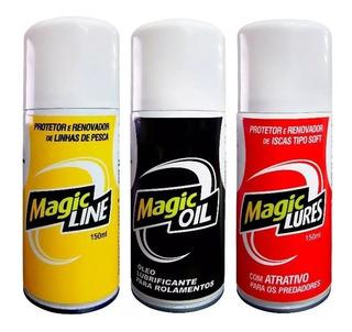 Magic Lures Magic Line Magic Oil - Kit