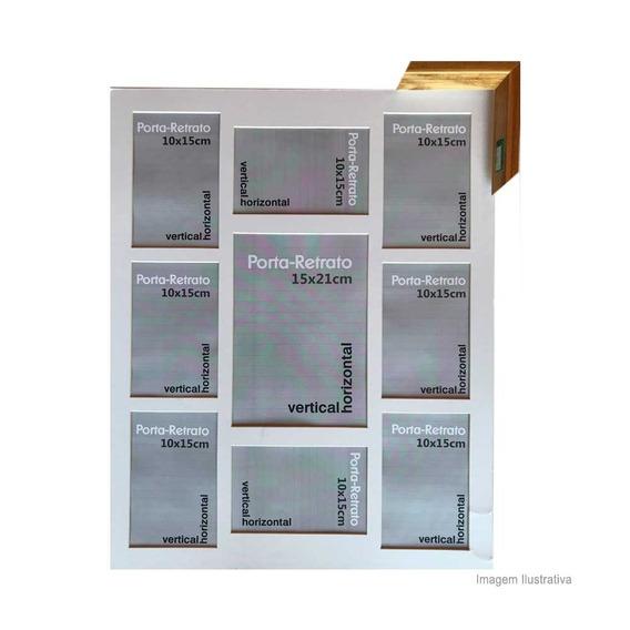 Porta Retrato 8 Janelas 10x15cm E 1 Janela 15x21cm Windows Z