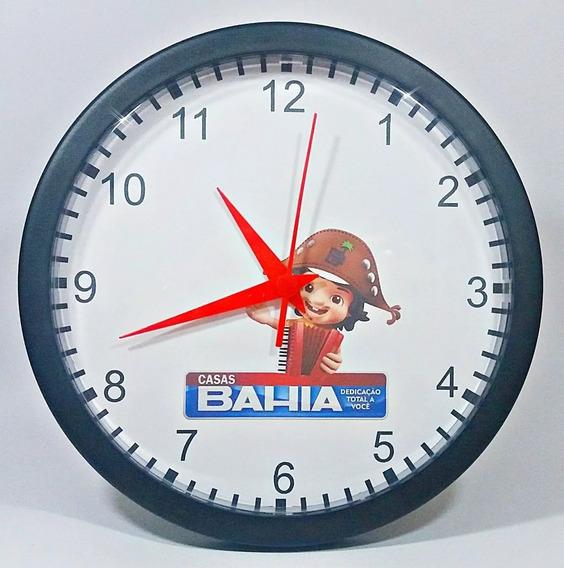 25 Relógios Parede Personalizados C/ Caixas Individuais 24cm