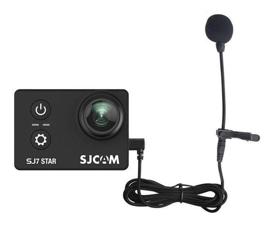 Sjcam Microfone Externo Original Sj6 Sj7 Sj360 140cm Longo
