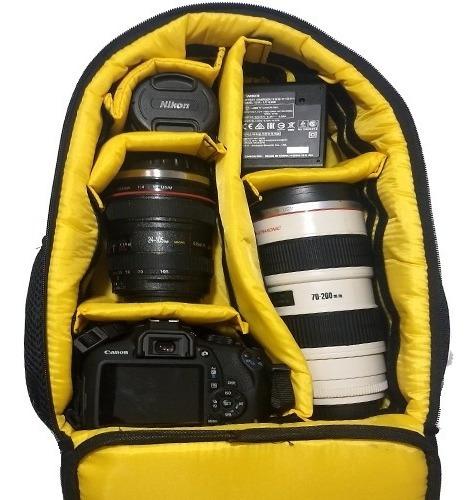 Mochila West Jamili C24xl14xa36 Canon Nikon Sony Fuji