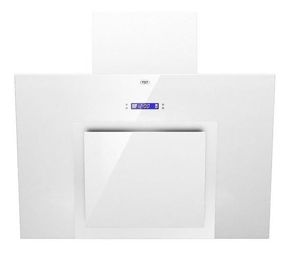 Campana Cocina Tst Pared Espejo Blanca 60 Cm Led Timer 3 Vel